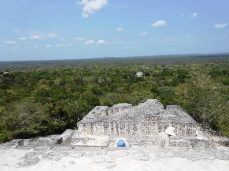 メキシコカラクムル遺跡