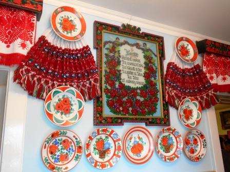 シク村の民家の内装