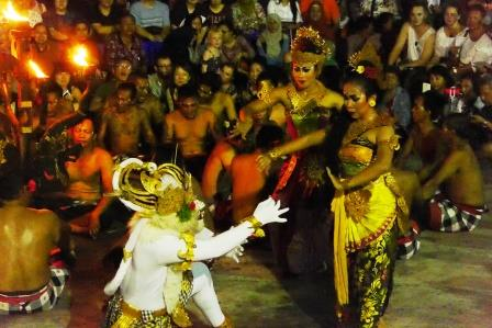 ケチャダンス, インドネシア
