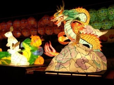 三光寺提灯祭り1