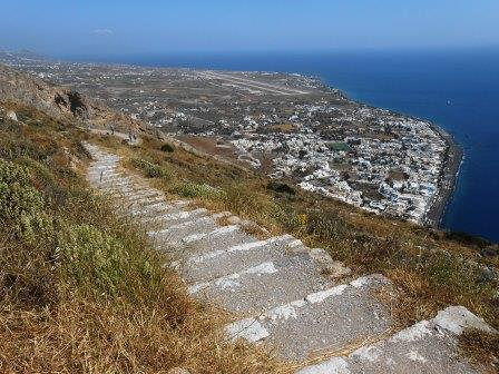古代ティラへの道