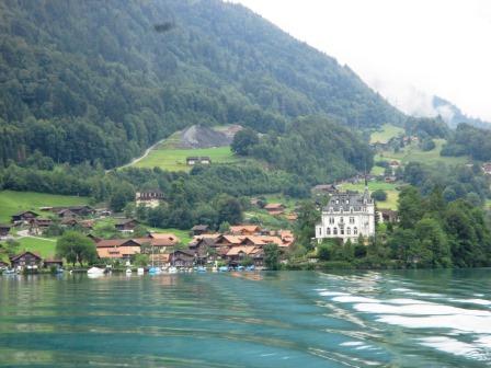 クルーズ船からの風景