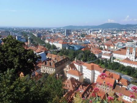 オーストリア、グラーツ、シュロスベルク