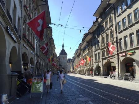 ベルンの旧市街