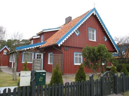 ニダの伝統家屋