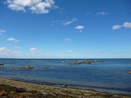スタロドゥプスコエ(栄浜)の海岸