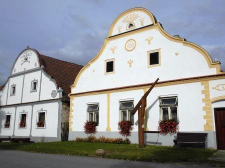 ホラショヴィツェ・農民バロックの家