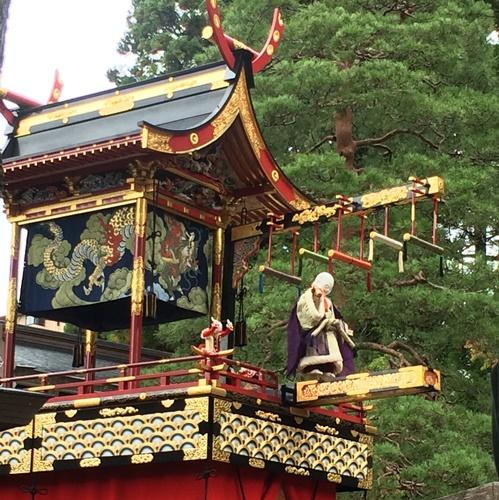 八幡祭(秋の高山祭)布袋台のからくり