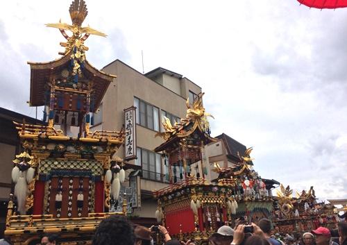 八幡祭(秋の高山祭)屋台