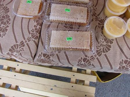 産地直送の蜂蜜