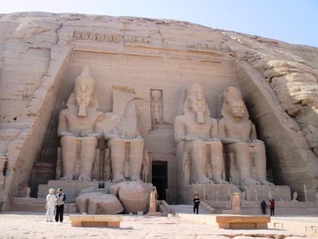 エジプト、アブシンベル神殿