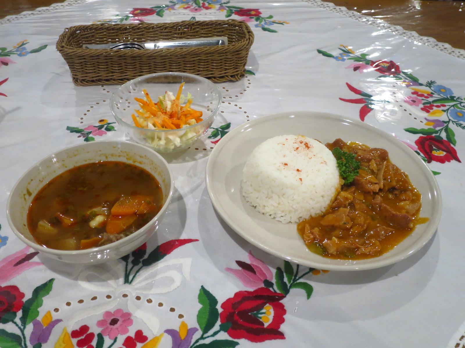 日本人の口にも合うハンガリー料理