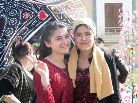 ウズベク人の女の子