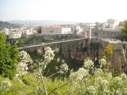 橋と峡谷の街、コンスタンティーヌ