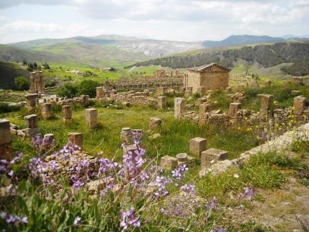 山あいのローマ都市、ジェミラ遺跡