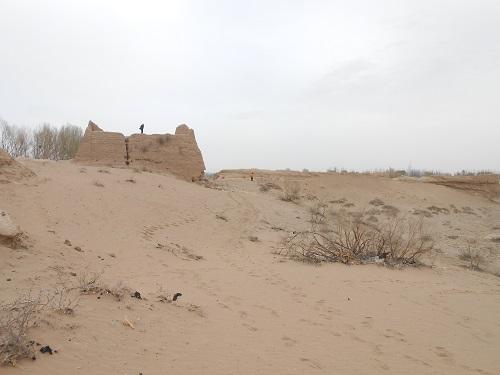 黒水国城堡遺址