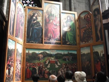 ゲント・聖バーフ教会の『神秘の子羊』(レプリカ)