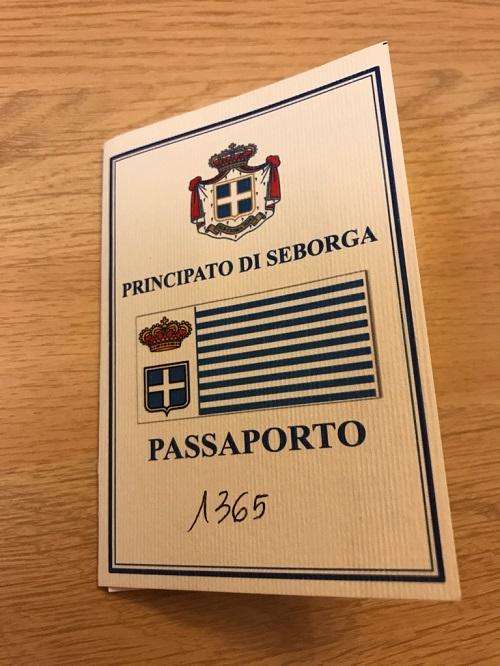 セボルガパスポート