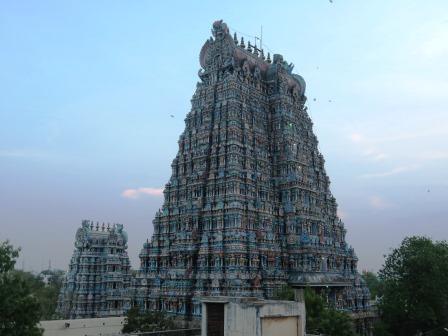 ゴプラム(マドゥライのミナークシ寺院)