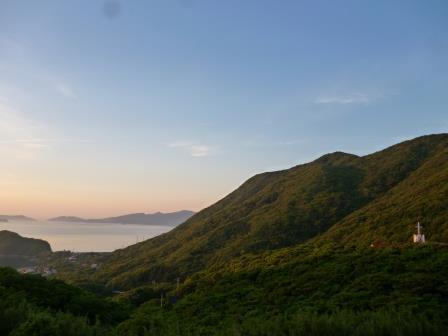 ホテルマルゲリータから五島灘の風景