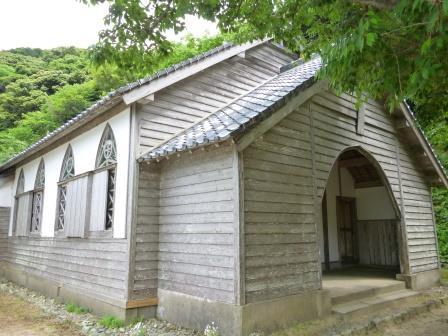 久賀島の木造・旧五輪教会