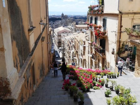 カルタジローネ、シチリアツアー、イタリア旅行、海外旅行