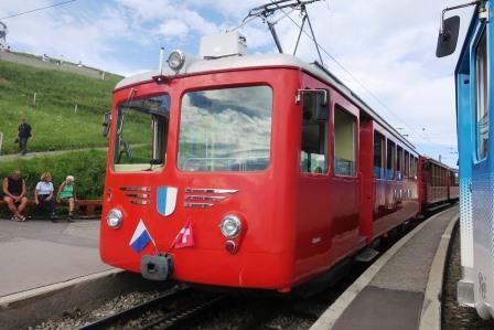 リギの登山鉄道