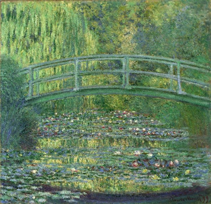 クロード・モネ《睡蓮の池》/ポーラ美術館