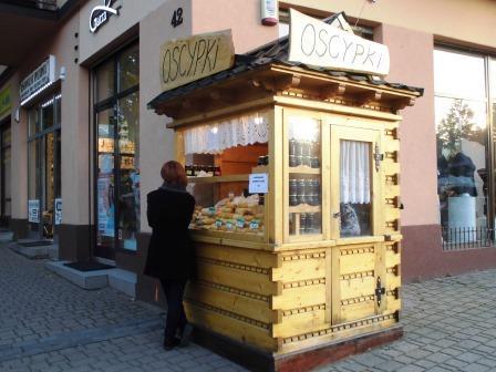 ザコパネ、ポーランド、チーズ