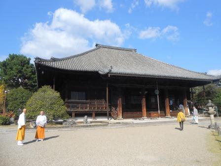 西大寺にて