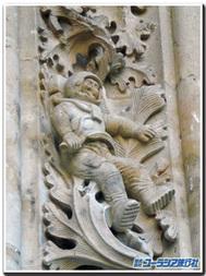 スペイン、サラマンカ、大聖堂の宇宙飛行士