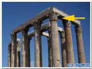 アテネ、ゼウス神殿
