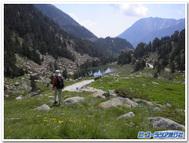 スペイン、アイギストルテス国立公園ハイキング