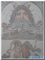バルドー美術館のモザイク