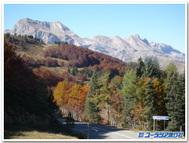 10月のソンポール峠