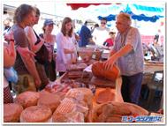 アジャクシオの市場