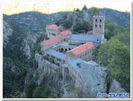 フランス、サン・マルタン・ドゥ・カニグー修道院