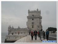 ポルトガル、リスボンにあるベレンの塔にて(11月)