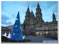 サンティアゴ・デ・コンポステーラ大聖堂(12月下旬撮影)