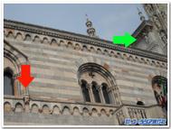イタリア、コモの大聖堂と旧政庁舎