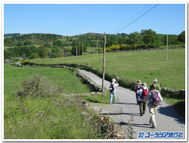 サンティアゴ・デ・コンポステラまでラスト100キロを歩く