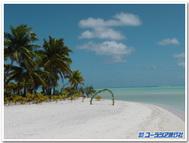 クック諸島、アイツタキ島のラグーンクルーズにて