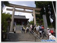 御岳山神社参道