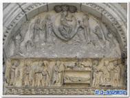 フランス、ラ・シャリテ・シュル・ロワール『ノートルダム教会」に描かれた聖母の生涯