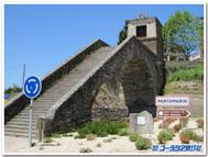 北スペイン、ポルトマリンの12世紀の石橋