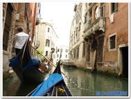 イタリア、ヴェネツィアのゴンドラ
