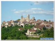 フランス、ウェズレー遠望