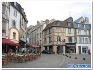 フランス、ポワティエ旧市街