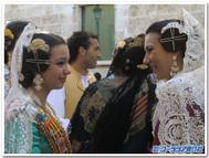 バレンシアの伝統衣装~モニョ・髪飾り~