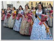 バレンシアの伝統衣装~色とりどり~
